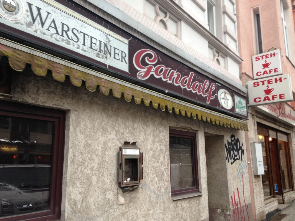 Gandalf Pub, Gotzkowskystraße, closing date unknown. Based on the name alone, we're holding out for some unknown benefactor to reopen this one.