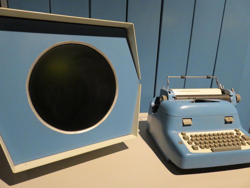 Early keyboard/monitor prototype
