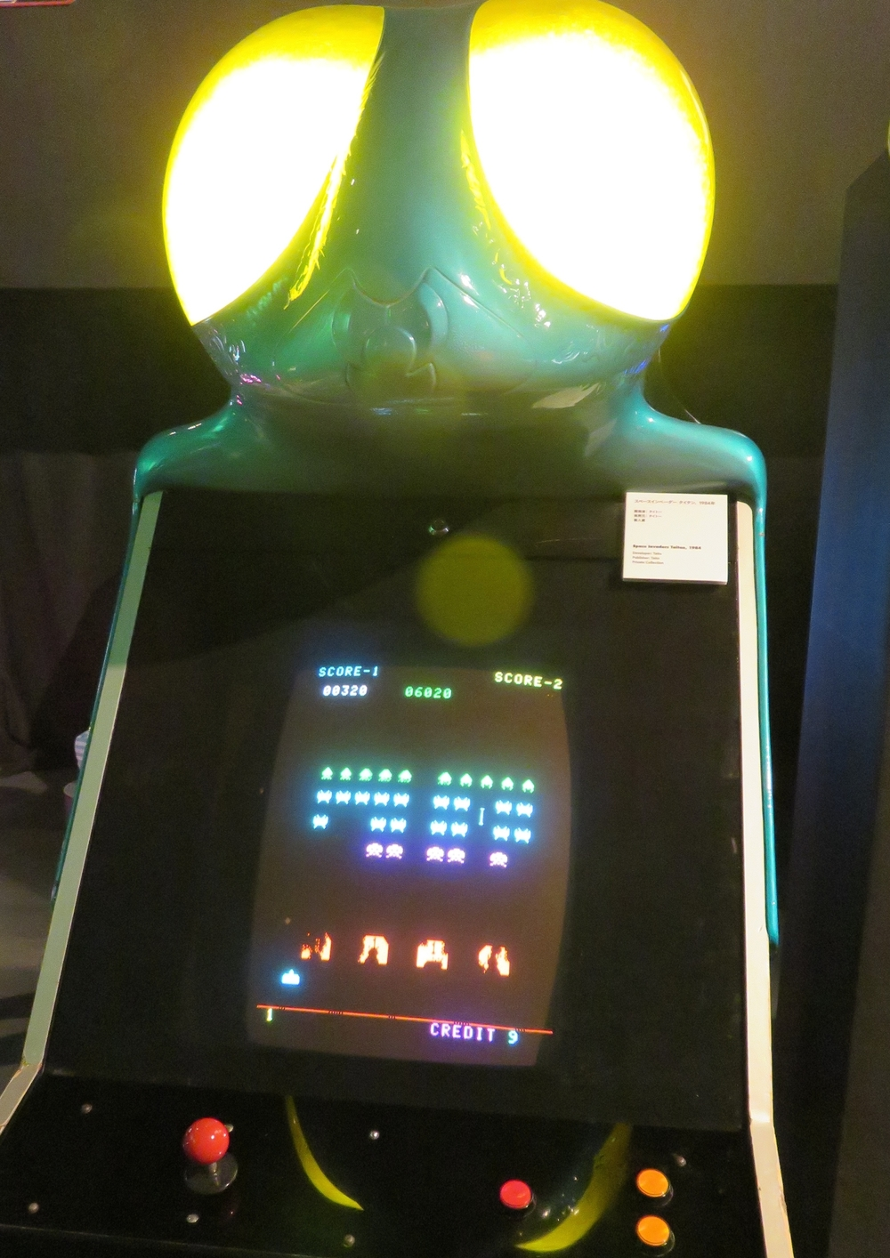 "Rare ""Taitan"" cabinet for the original  Space Invaders"