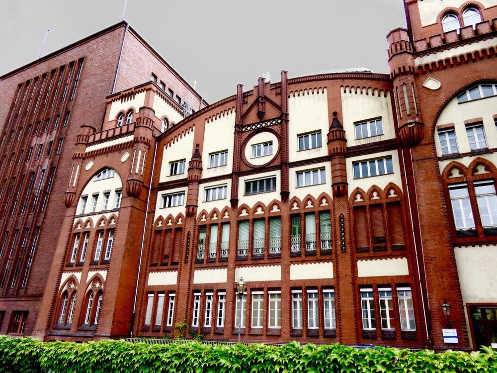 The original Maschinenhalle -built in 1901, still standing in 2016