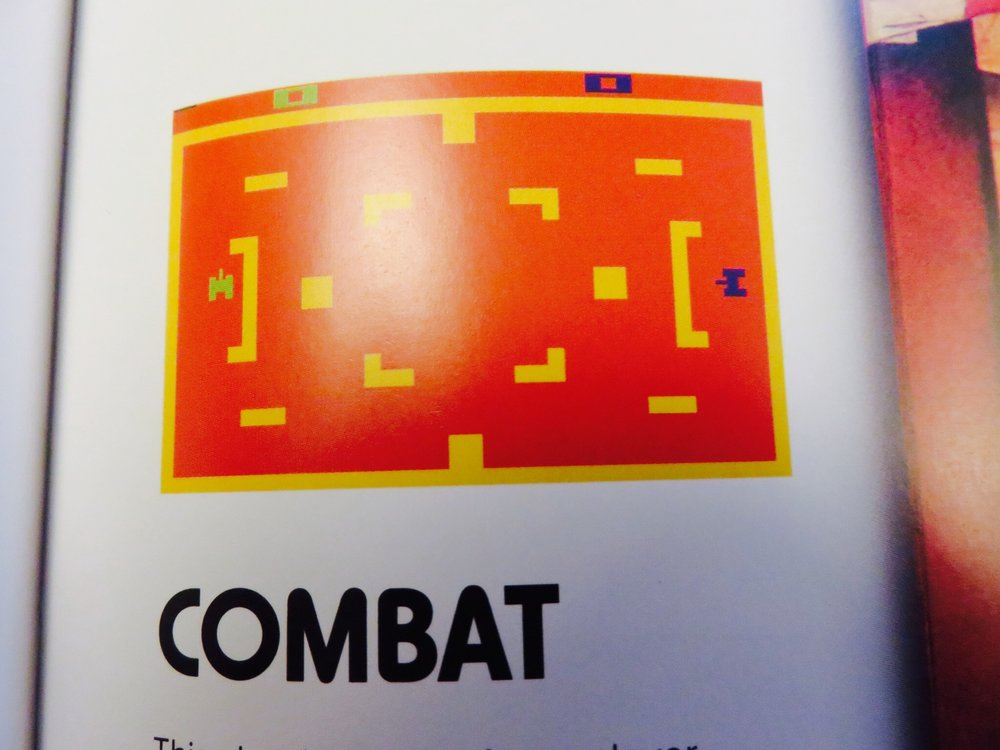 Combatgameplay screen.©The Art of Atari