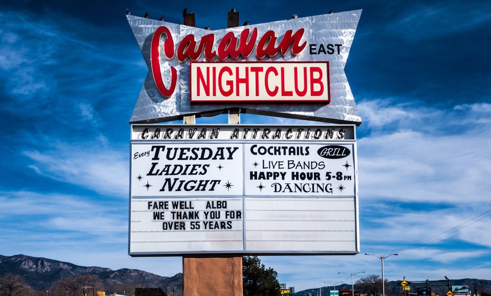 Even ladies night and happy hour couldn't save the Caravan, in Albuquerque.
