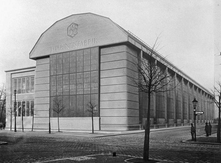 The Turbinenfabrik in the early 20th century