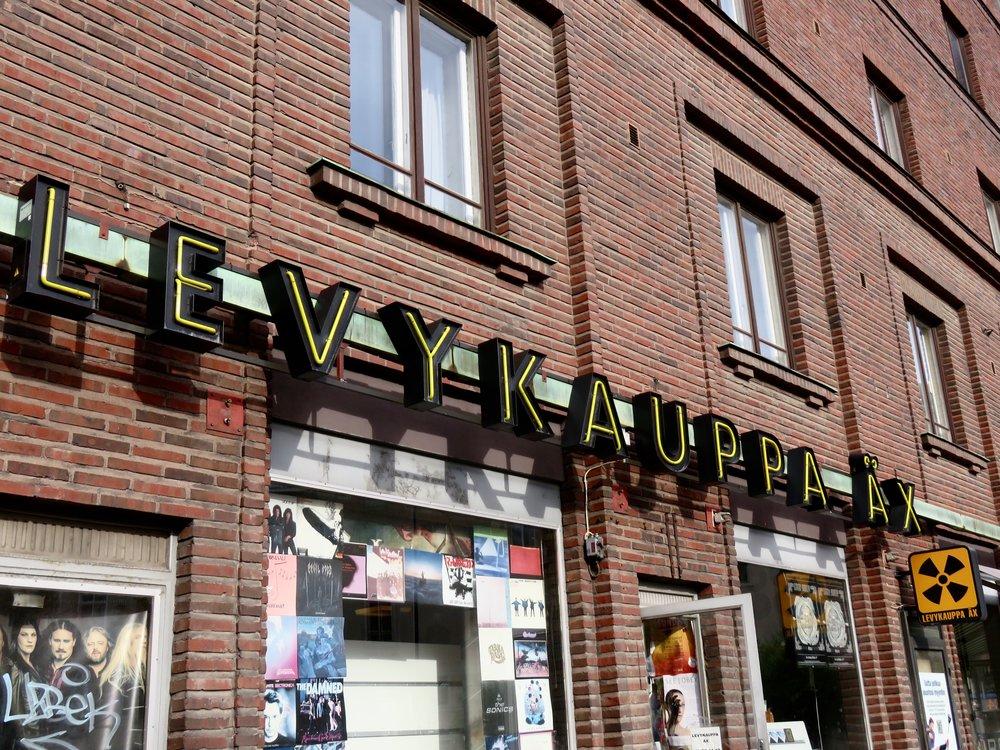 Levykaupppa Äx, one of Helsinki's premiere record stores