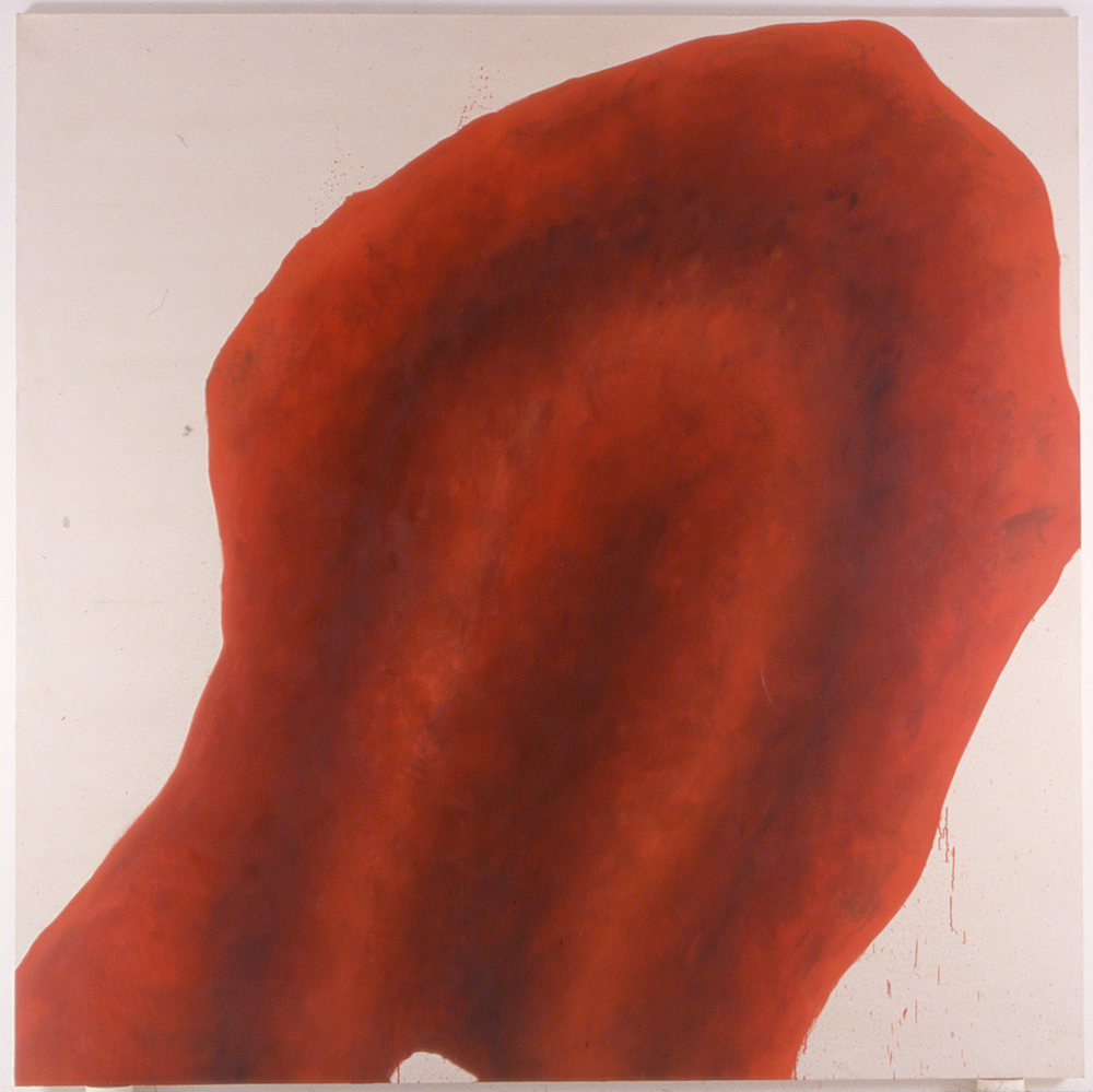 Antigone No. 5 , oil on canvas, 90 in x 90 in, 1999.