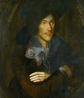 Portrait of John Donne, artist unknown, 1595