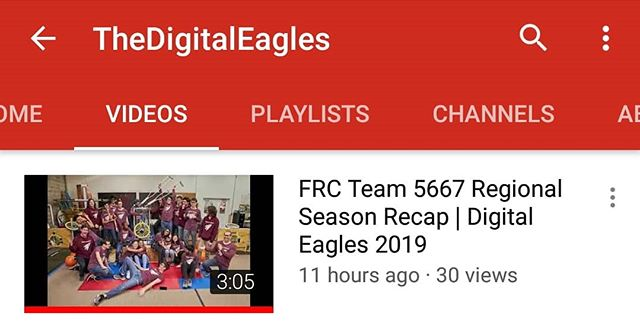 It's up! Check out our Regional Season Recap on our YouTube channel and be sure to subscribe so you never miss an update! https://youtu.be/_UhFGClSE4c #omgrobots #frc #frc2019 #firstrobotics