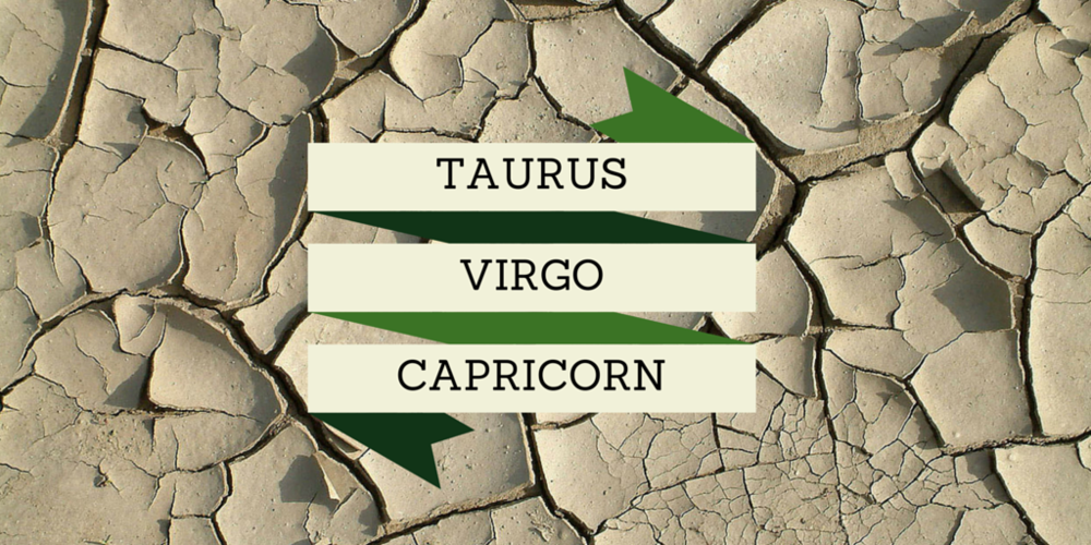 The Earth Squad - Taurus, Virgo, and Capricorn!