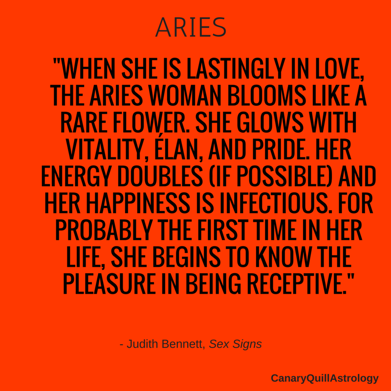 How to handle an aries woman
