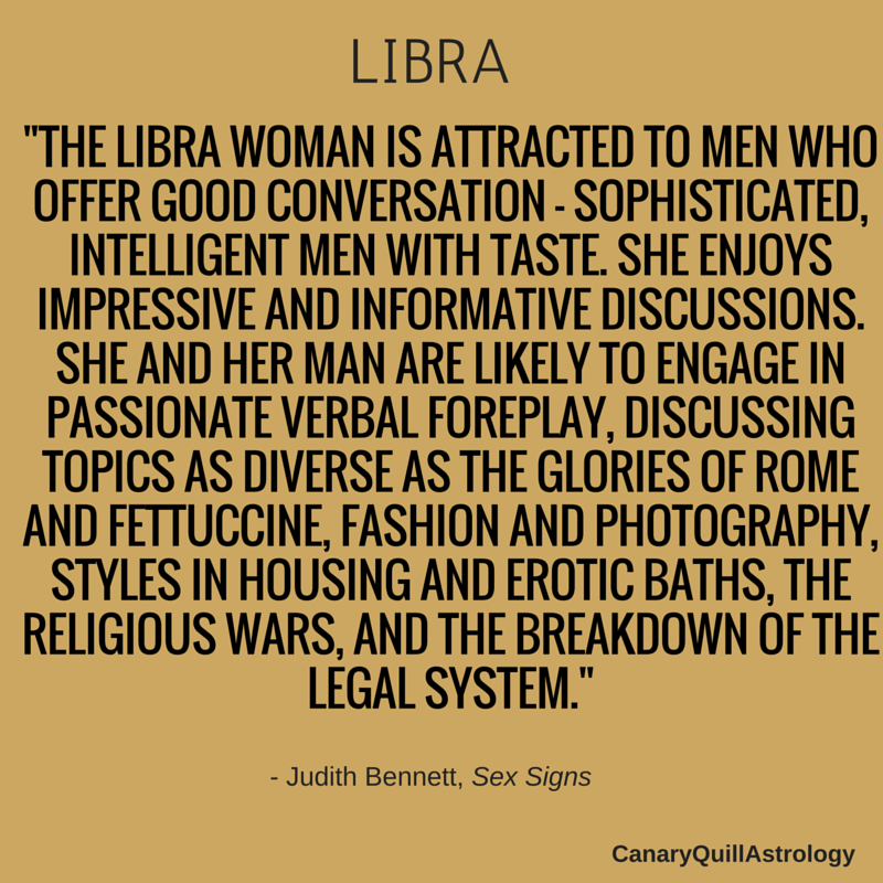 What is the best sign for libra woman