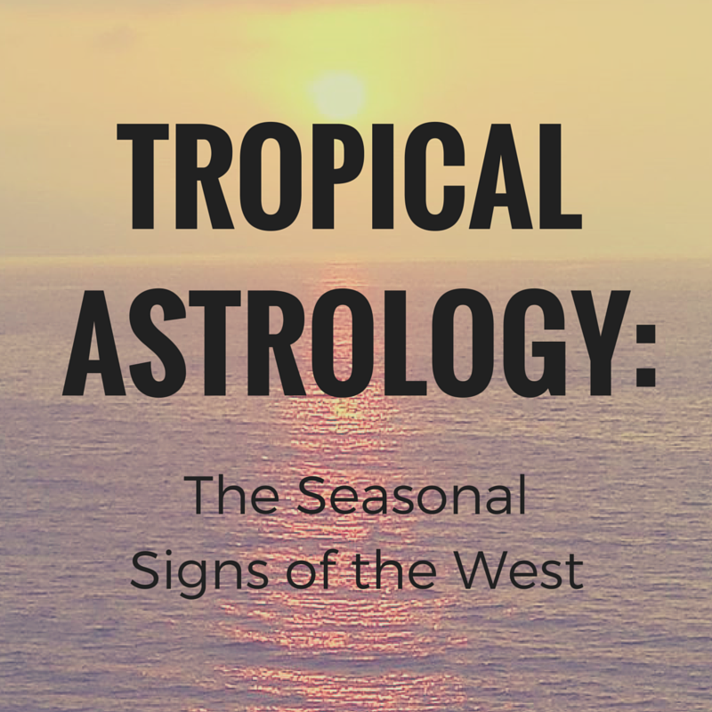 Western Astrologers (as in, the majority of the ones writing in newspaper columns and magazines) base their astrology off a Tropical, seasonal calendar. Learn more about what that means for the Signs here!