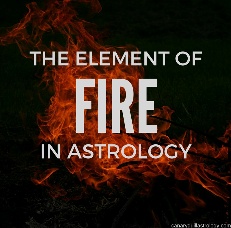 The Element of FIRE: Aries, Leo, Sagittarius