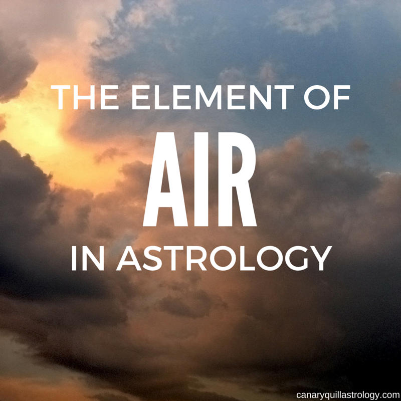 The Element of AIR: Libra, Aquarius, Gemini