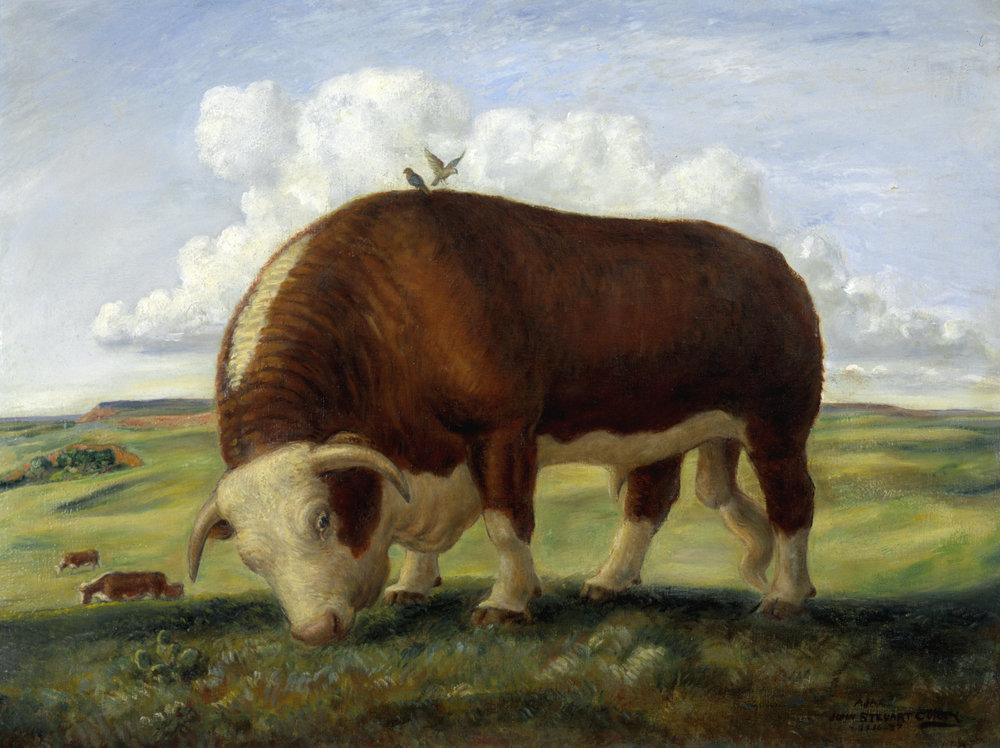 Ajax by John Steuart Curry, 1936-37, via Smithsonian American Art Museum Source