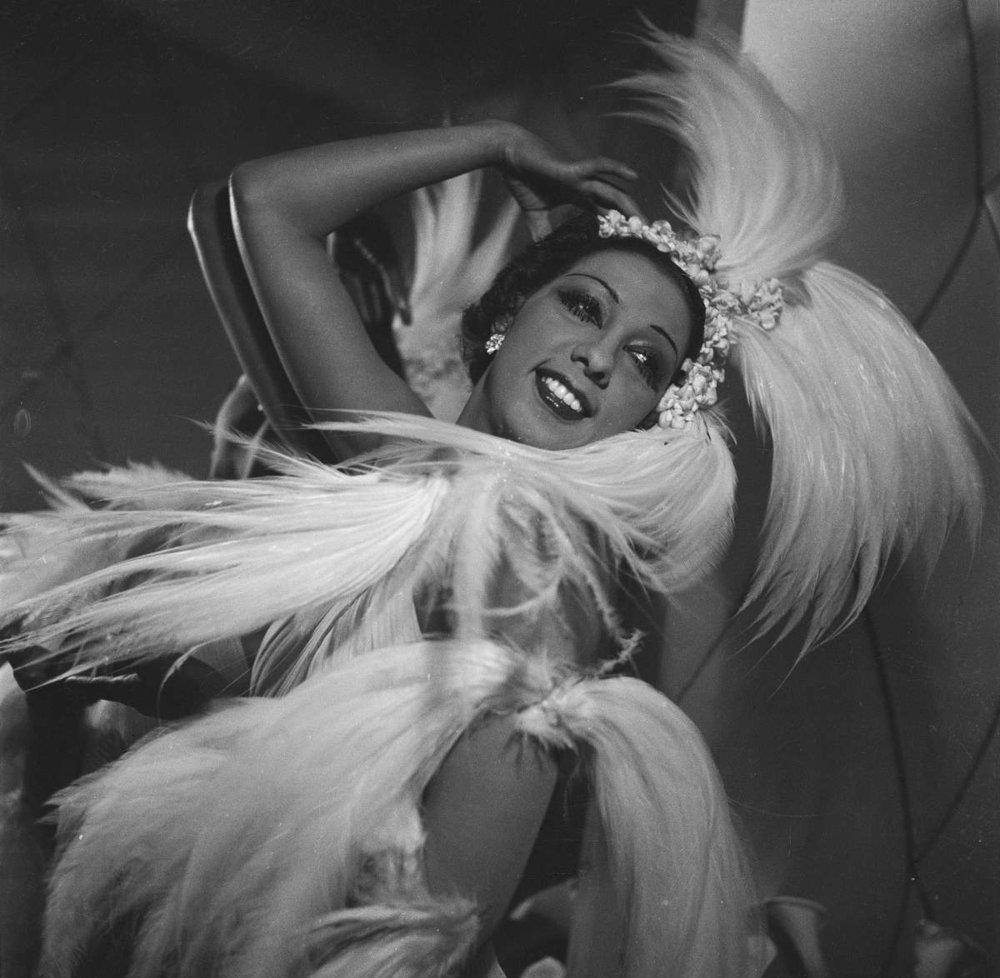 Josephine Baker, via Biography.com