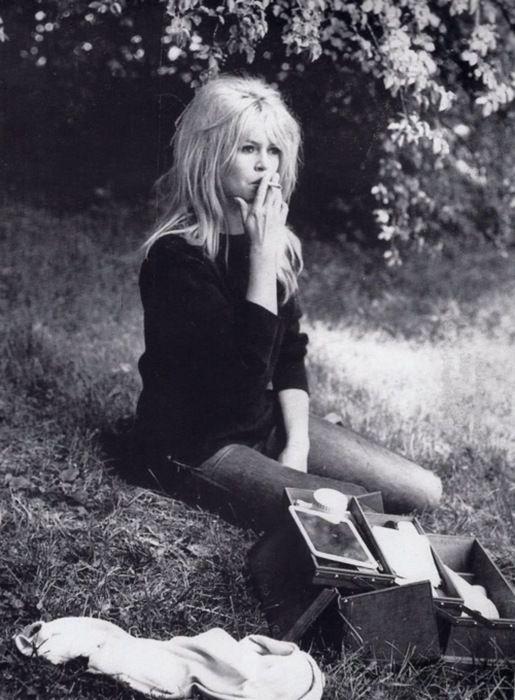 Bridgette Bardot, via