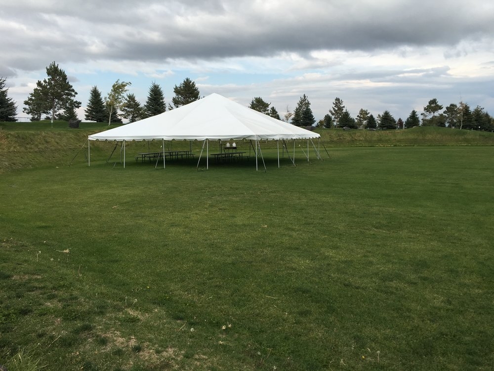 Tents available for renting