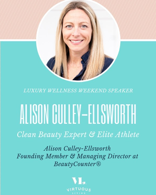 •| Meet Alison |• Alison Culley-Ellsworth is a Founding Member & Managing Director with @beautycounter where they take clean beauty very seriously.  At Beautycounter the mission is to get safe products into the hands of everyone. They educate, formulate, and advocate. What Alison loves most about Beautycounter is having the opportunity to do well by doing good, by working hard everyday to help educate consumers to make safer choices.  Safe Beauty products means a healthier you, and that's why we are so excited about this partnership. Bringing you information, phenomenal products that work on all skin tones and types, and that reduce toxic load is a win-win for us and our attendees.  We look forward to sharing more about this amazing woman, BeautyCounter and ways to look great and be well at the same time.  #templemaintenance #organicfaith #wellwomen #realisbetterthanperfect #healedandwhole #lww19