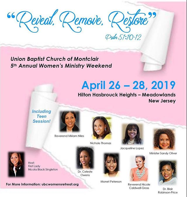 So excited to be in N.J. this weekend! Are you ready?!? #templemaintenance #organicfaith #spiritualhealth #mentalheath #emotionalhealth #physicalhealth #wellwomen #realisbetterthanperfect #feeedomproject #healedandwhole . . . . . . @ubc_montclair