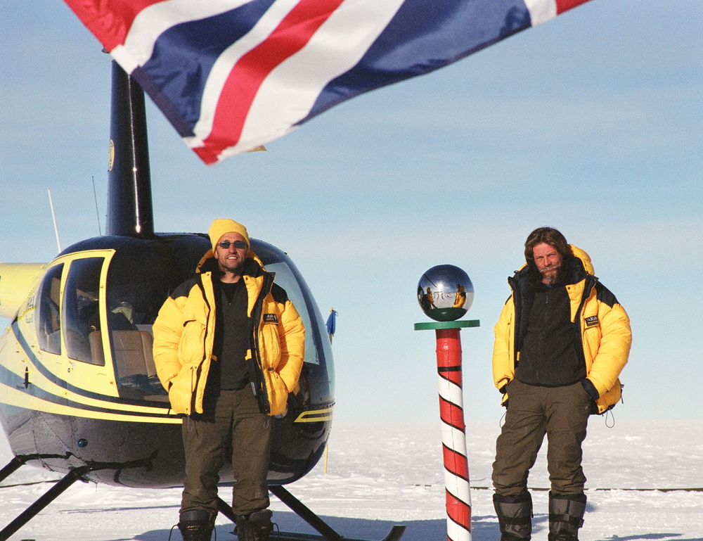 South Pole by Helicopter Quentin Smith