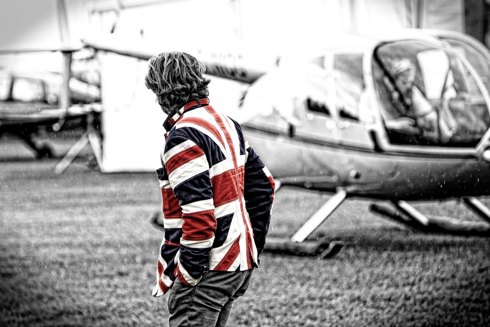 Helicopter Genius Quentin Smith Great Britain