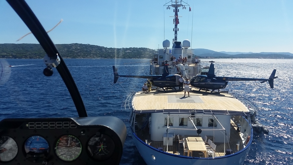 Superyacht Helicopter Operations