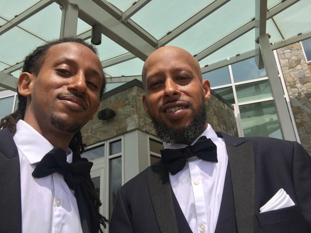 Twin Selfie I Benyam's Wedding Day 9/1/18