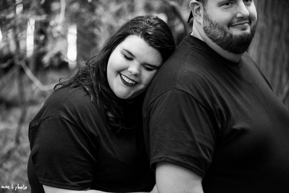 Kristina & Ryan's Summer Mill Creek Park Engagement Session in Youngstown, Ohio-25.jpg