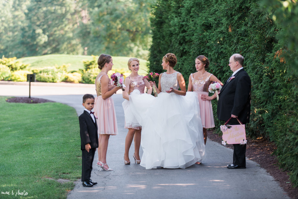 Mary Catherine & Chad's Elegant and Intimate Country Club Wedding at Squaw Creek in Youngstown Ohio by Mae B Photo-46.jpg