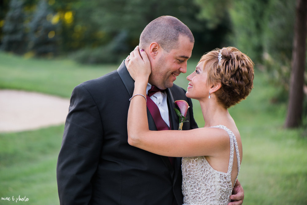 Mary Catherine & Chad's Elegant and Intimate Country Club Wedding at Squaw Creek in Youngstown Ohio by Mae B Photo-76.jpg
