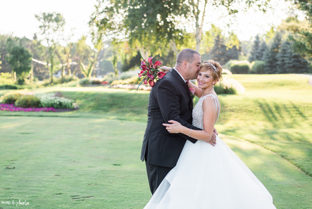Mary Catherine & Chad's Elegant and Intimate Country Club Wedding at Squaw Creek in Youngstown Ohio by Mae B Photo-67.jpg