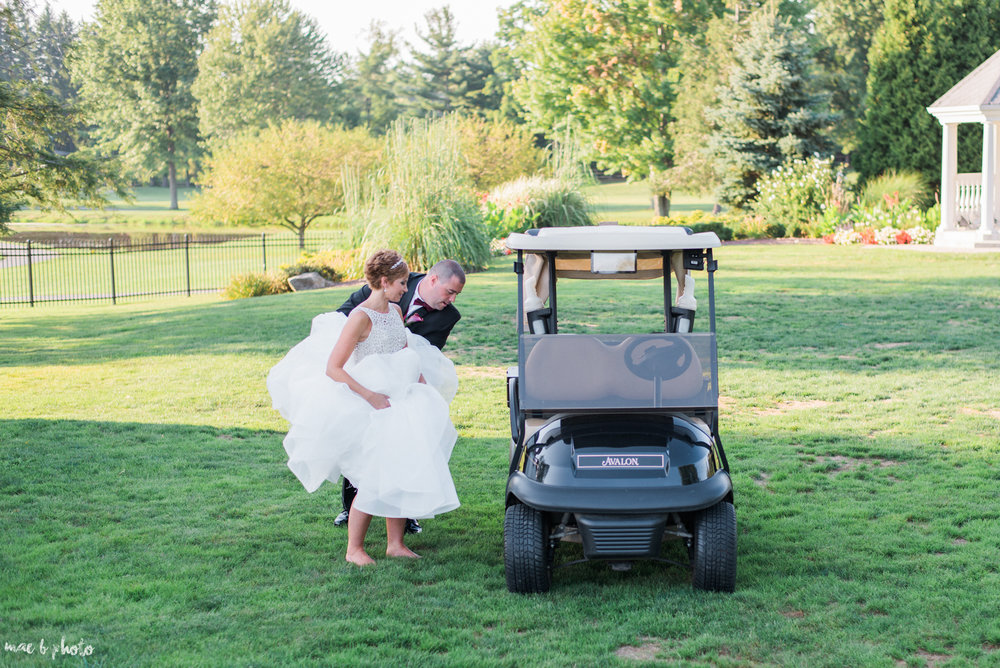 Mary Catherine & Chad's Elegant and Intimate Country Club Wedding at Squaw Creek in Youngstown Ohio by Mae B Photo-64.jpg