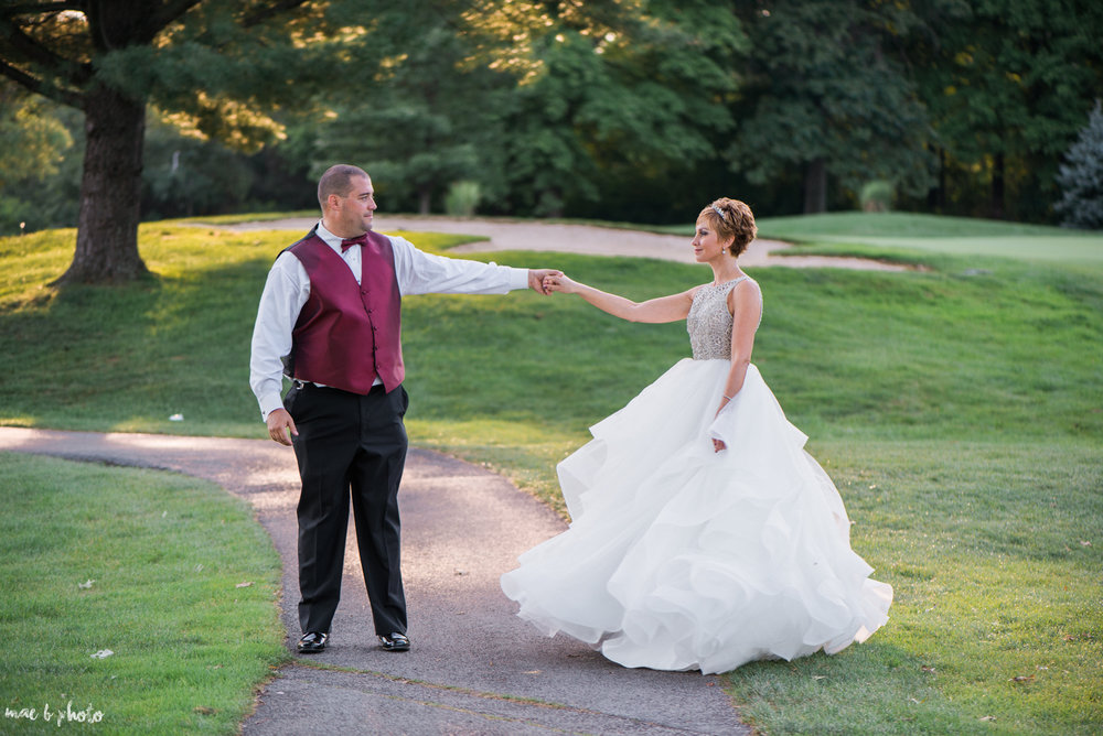 Mary Catherine & Chad's Elegant and Intimate Country Club Wedding at Squaw Creek in Youngstown Ohio by Mae B Photo-85.jpg