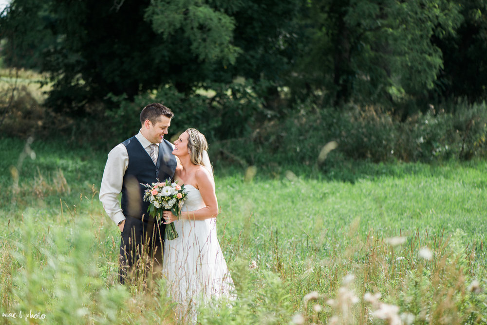 Heidi & Steve's Intimate Barn Wedding at The Links at Firestone Farms in Columbiana, Ohio Photographed by Mae B Photo-2.jpg