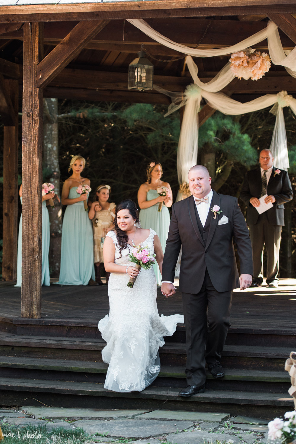 Gabby & Shane's Rustic Intimate Summer Barn Wedding at The Barn in Salem, Ohio Photographed by Mae B Photo-7.jpg