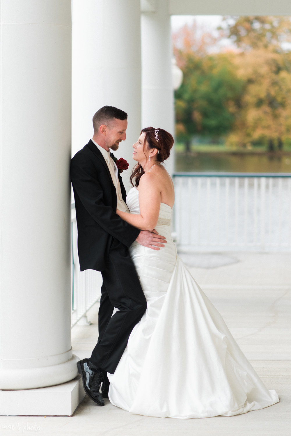 Tracey & Aaron's Personal Fall Wedding at Tiffany's Banquet Center in Brookfield, Ohio Photographed by Mae B Photo-3.jpg
