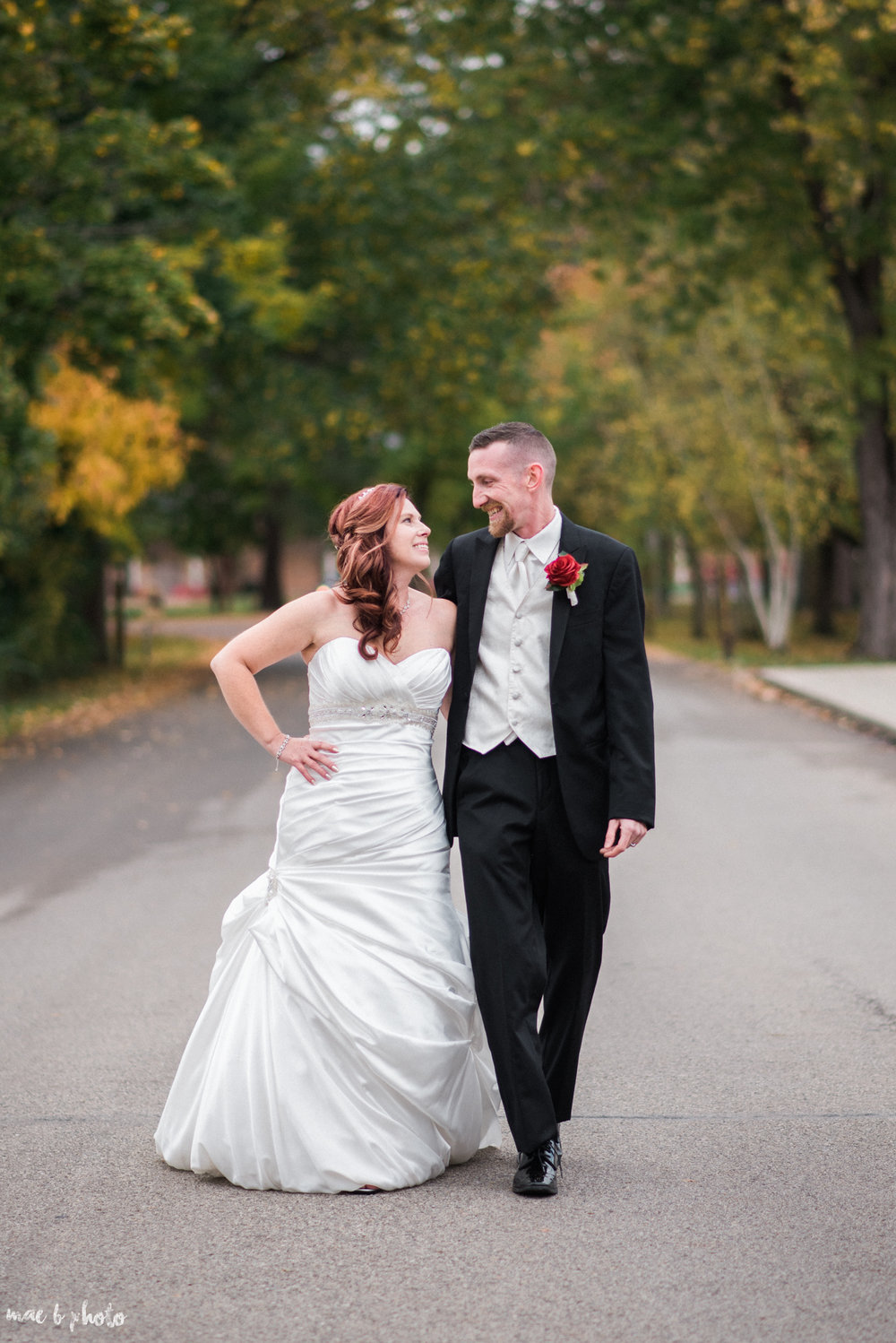 Tracey & Aaron's Personal Fall Wedding at Tiffany's Banquet Center in Brookfield, Ohio Photographed by Mae B Photo-6.jpg