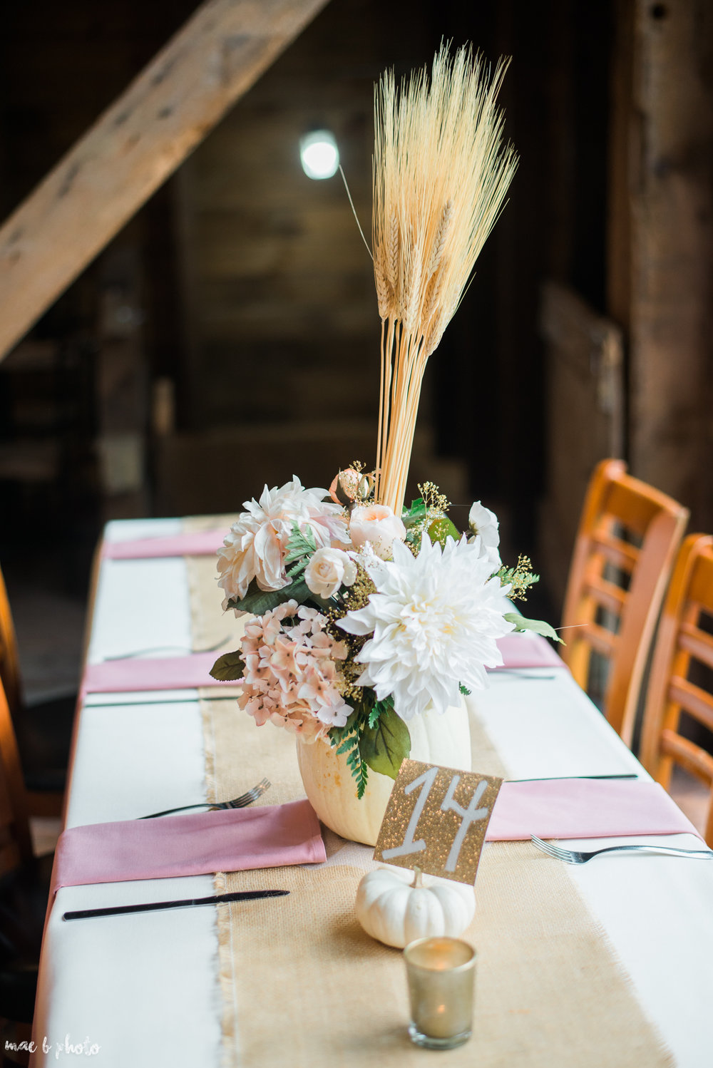 Sarah & Dustin's Rustic Chic Barn Wedding at Hartford Hill Winery in Hartford, Ohio by Mae B Photo-98.jpg