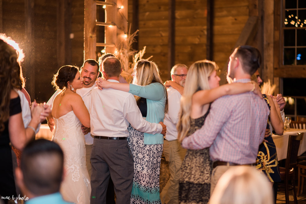 Sarah & Dustin's Rustic Chic Barn Wedding at Hartford Hill Winery in Hartford, Ohio by Mae B Photo-115.jpg