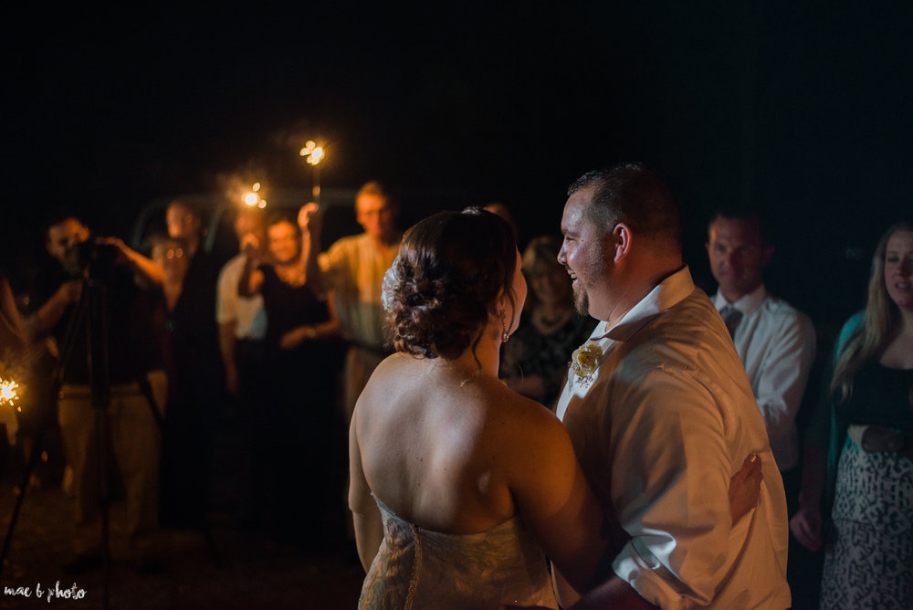 Sarah & Dustin's Rustic Chic Barn Wedding at Hartford Hill Winery in Hartford, Ohio by Mae B Photo-111.jpg