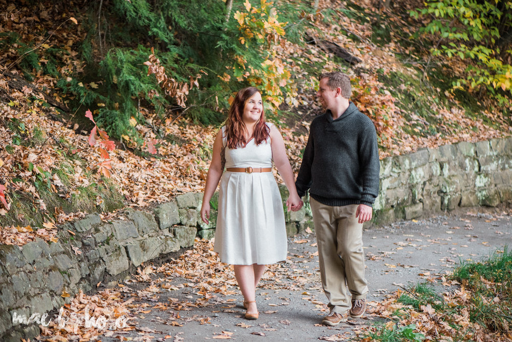 sarah and randy's personal fall engagement session at mill creek park in youngstown ohio-27.jpg