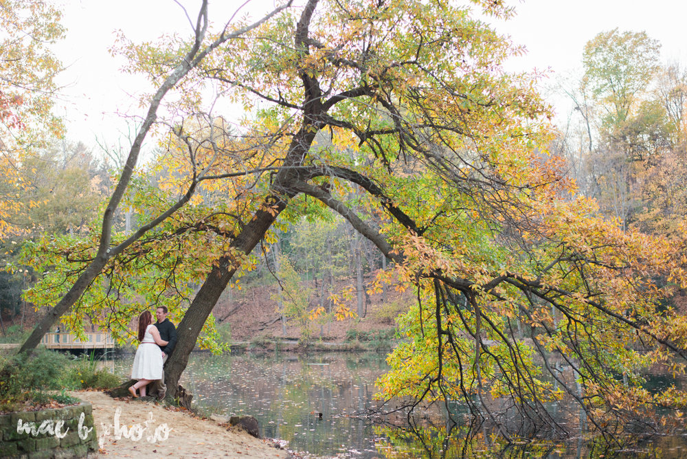 sarah and randy's personal fall engagement session at mill creek park in youngstown ohio-12.jpg