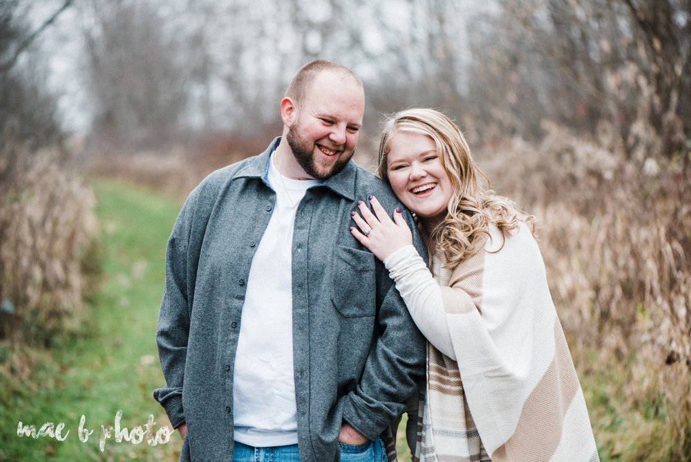 jenna and jays winter engagement session at mill creek park  in youngstown ohio photographed by cleveland wedding photographer mae b photo-1.jpg