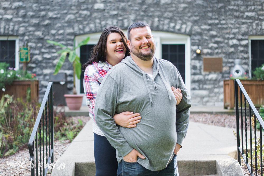 kristina and ryans summer engagement session at the davis center in mill creek park in youngstown ohio photographed by cleveland wedding photographer mae b photo-1.jpg