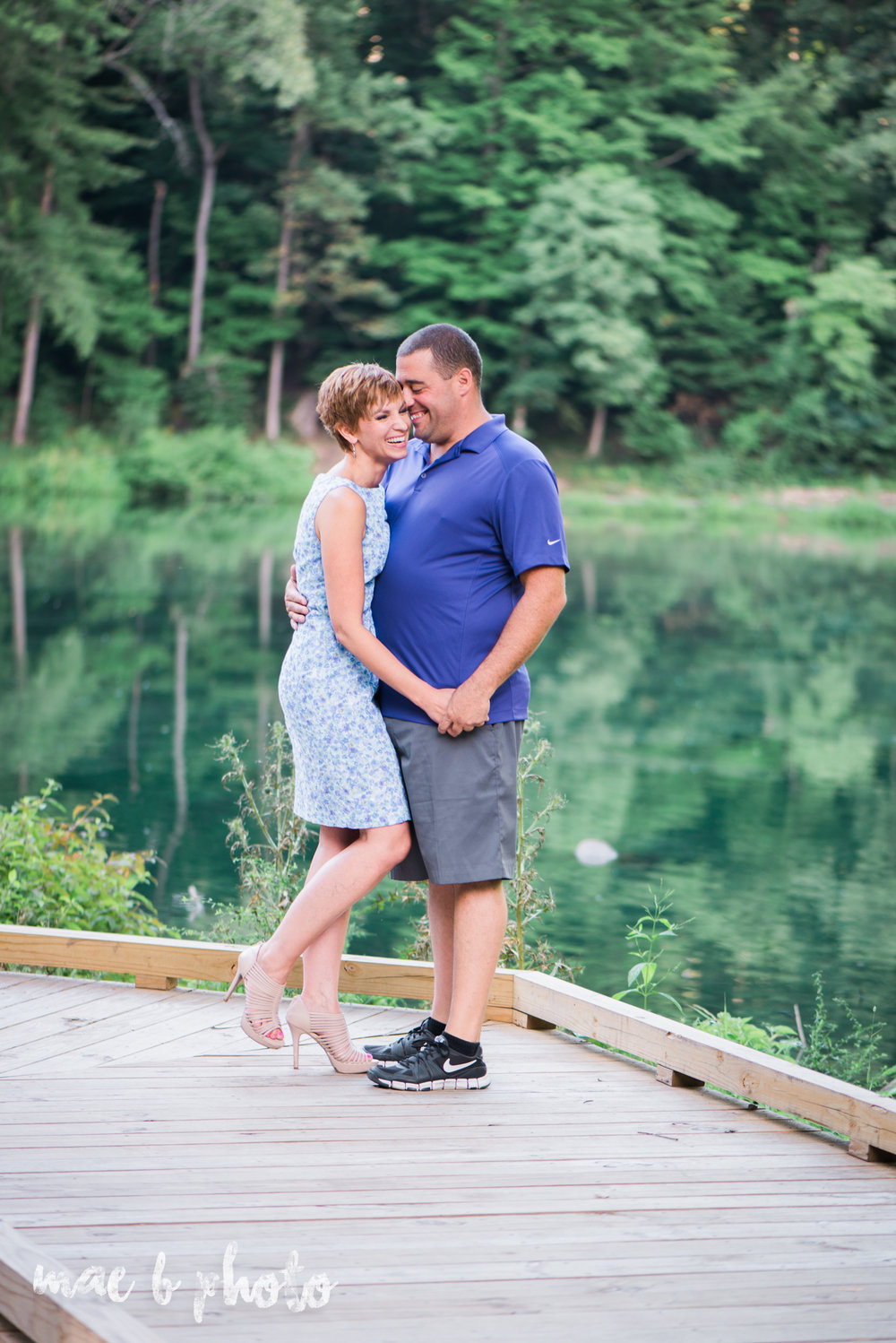mary catherine and chads summer engagement session at the lilly pond in mill creek park in youngstown ohio photographed by cleveland wedding photographer mae b photo-1.jpg