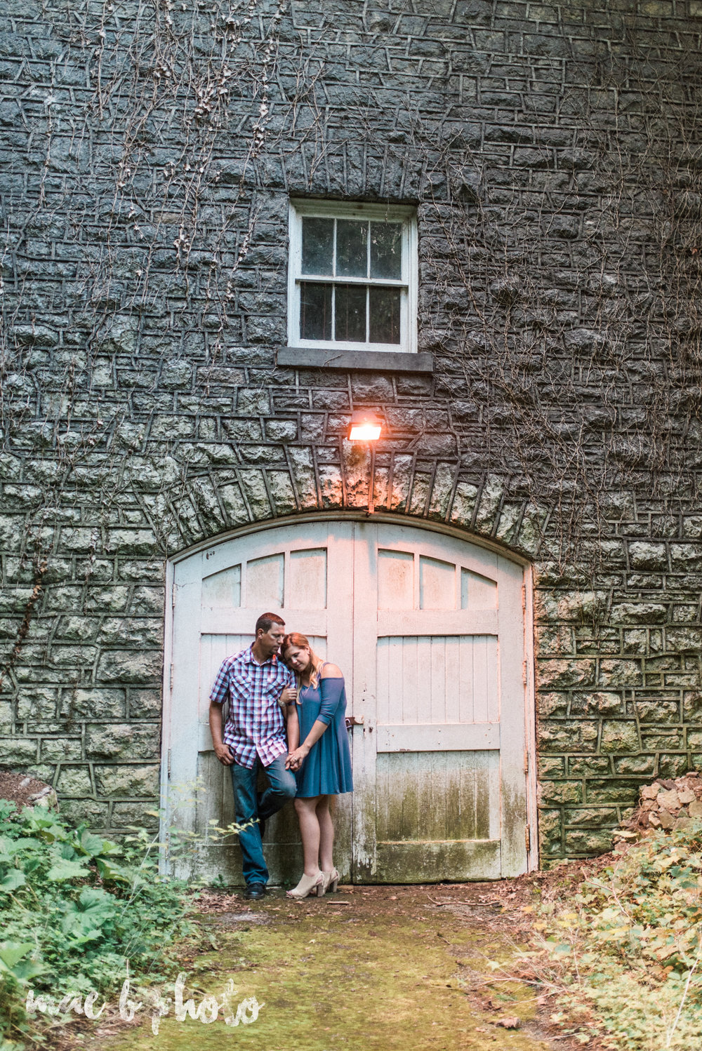 becca and rich's woodsy summer engagement session at ford nature center in mill creek park in youngstown ohio photographed by cleveland wedding photographer mae b photo-38.jpg