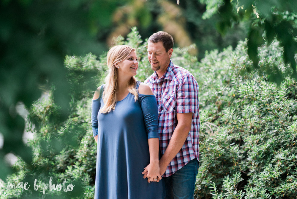 becca and rich's woodsy summer engagement session at ford nature center in mill creek park in youngstown ohio photographed by cleveland wedding photographer mae b photo-28.jpg