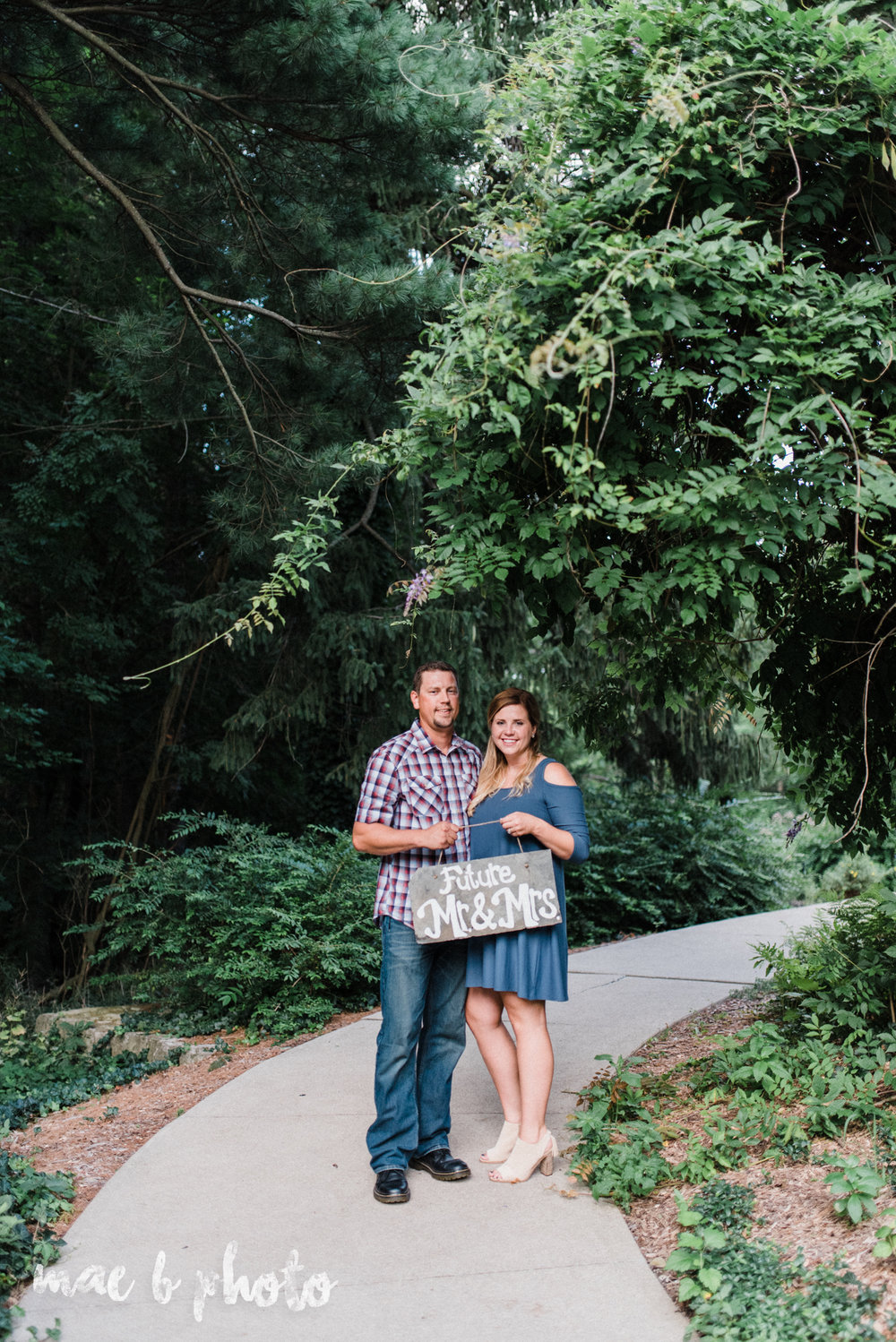 becca and rich's woodsy summer engagement session at ford nature center in mill creek park in youngstown ohio photographed by cleveland wedding photographer mae b photo-24.jpg