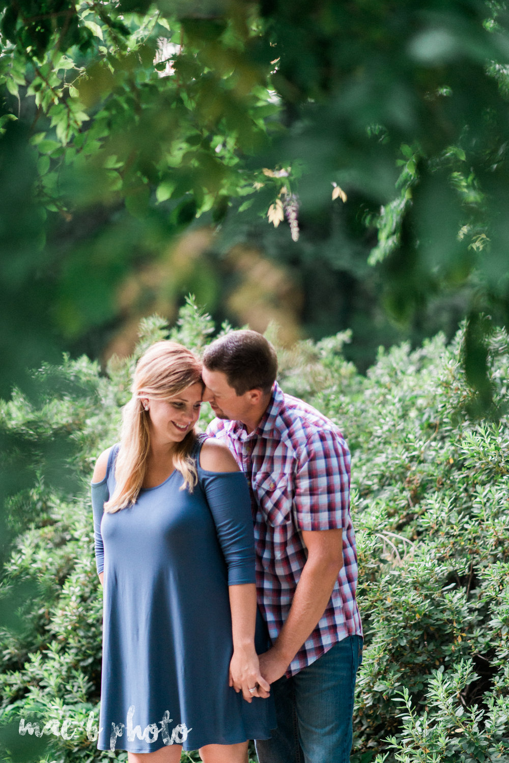 becca and rich's woodsy summer engagement session at ford nature center in mill creek park in youngstown ohio photographed by cleveland wedding photographer mae b photo-29.jpg