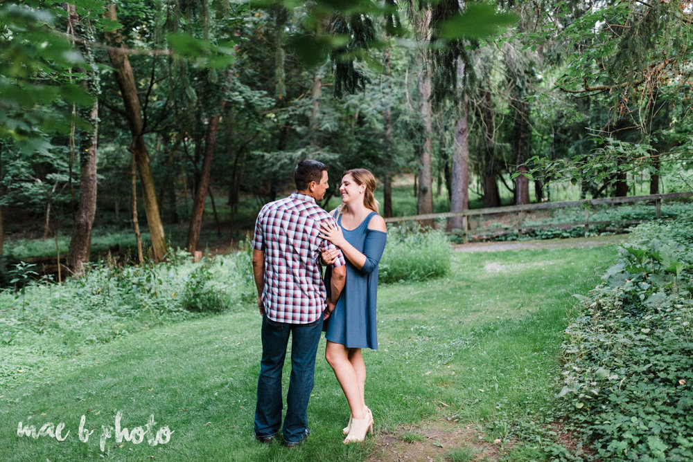 becca and rich's woodsy summer engagement session at ford nature center in mill creek park in youngstown ohio photographed by cleveland wedding photographer mae b photo-35.jpg